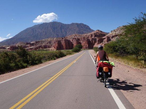 Quebrada Humahuaca, al nordoest d'Argentina