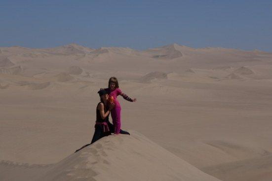 Les dunes d'Ica, al Perú